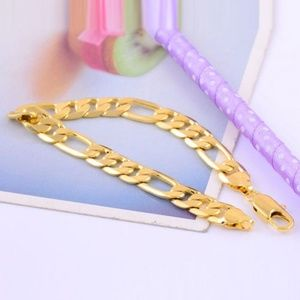 Other - 14k Yellow gold filled mens Bracelet Chain
